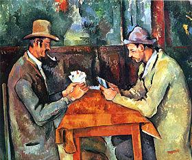 Cézanne - Les joueurs de carte