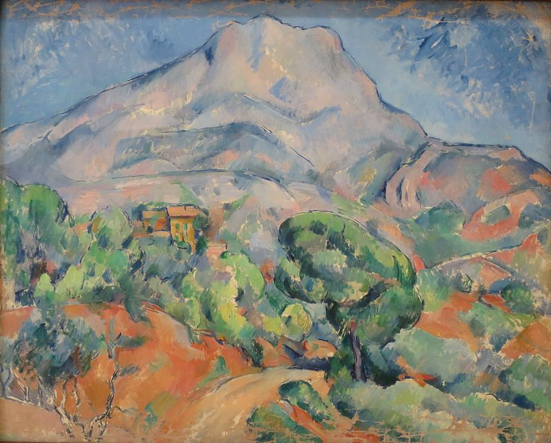 Cézanne - Mont Saint Victoire at Ermitage