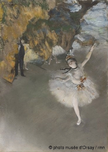 Degas L'etoile