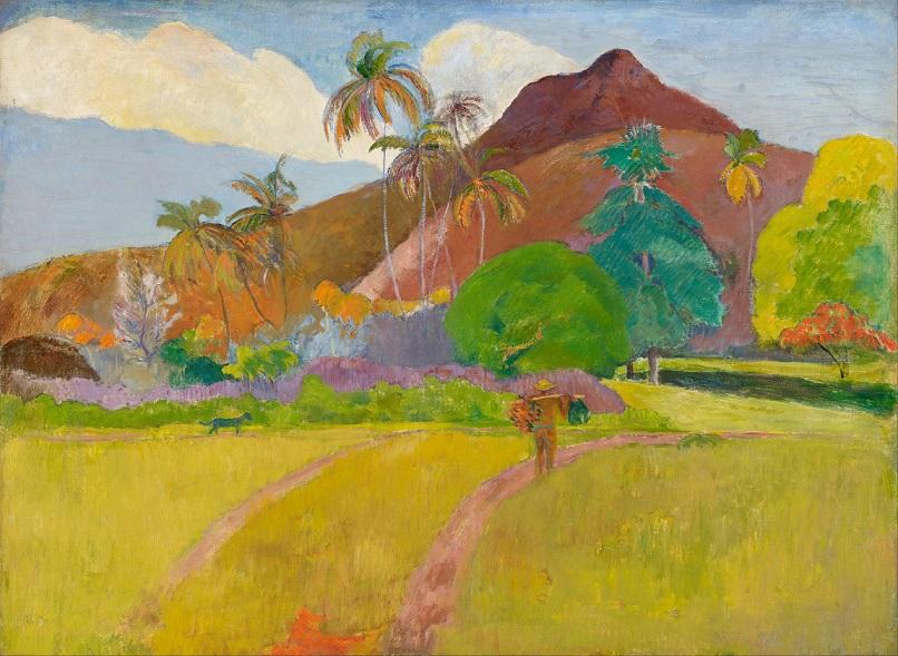 Gauguin - Paysage tahitien