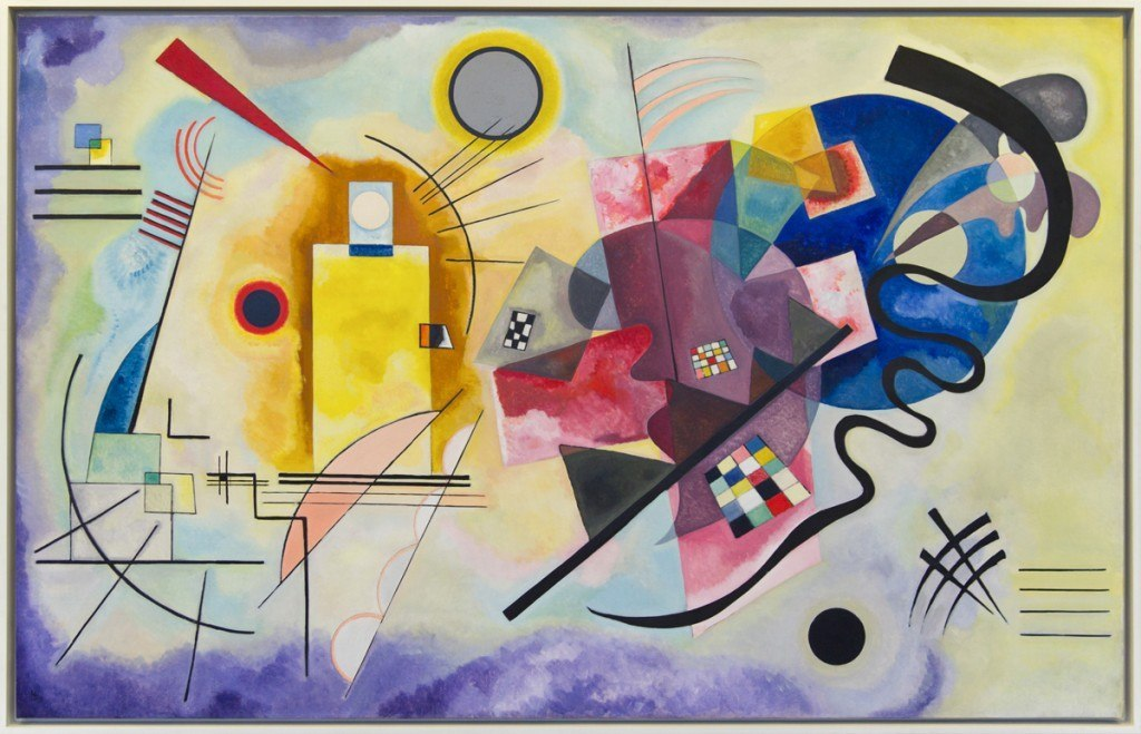 Kandinsky Yellow-Red-Blue