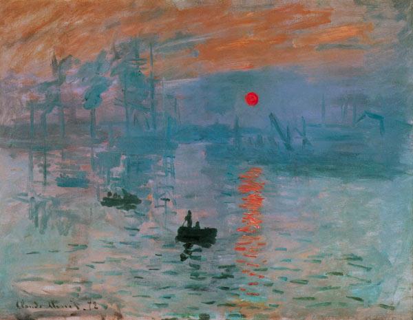 Monet Impression - Soleil Levant