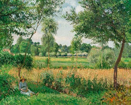 Pissarro Demain, Soleil, Eragny