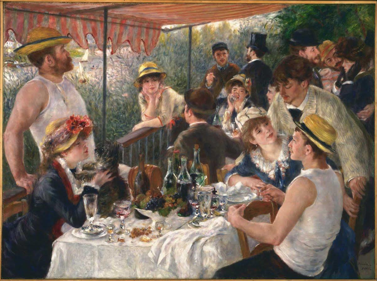 Renoir - Le déjeuner des canotiers