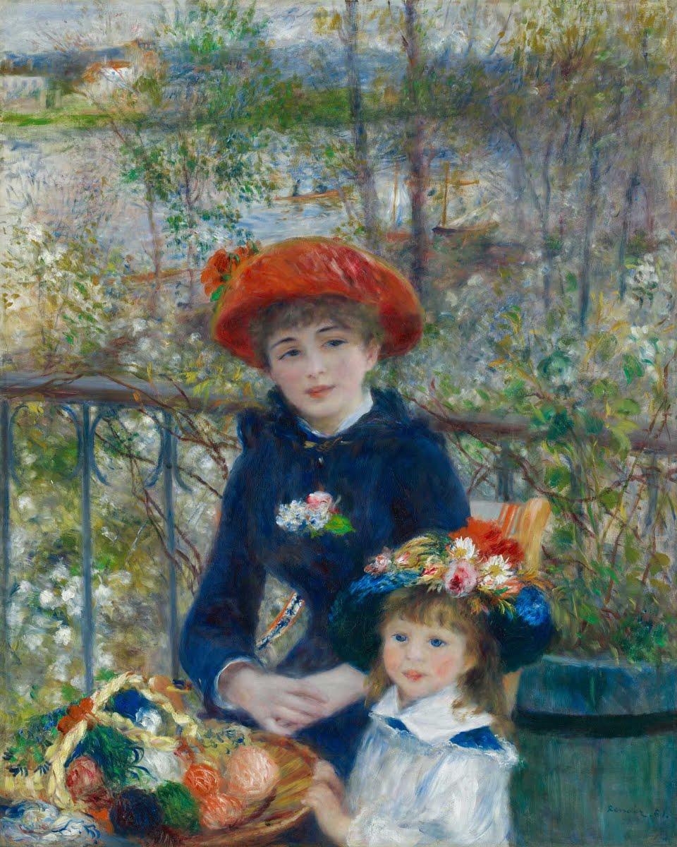 Renoir Les Deux Sœurs
