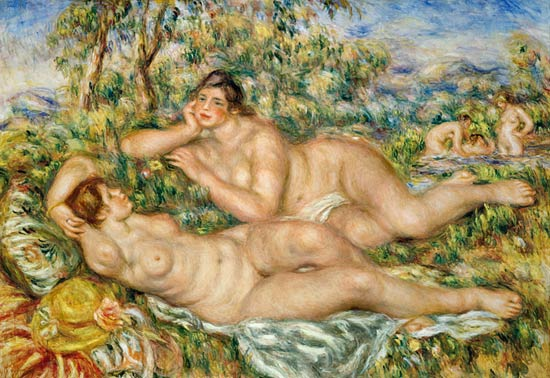 Renoir - Le baignauses