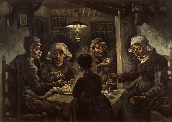 Van Gogh - De aardappeleters