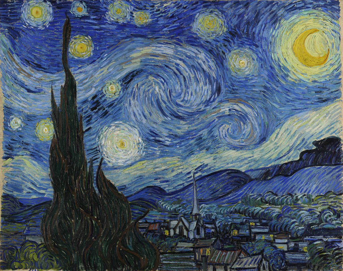 Van Gogh - De sterrennacht