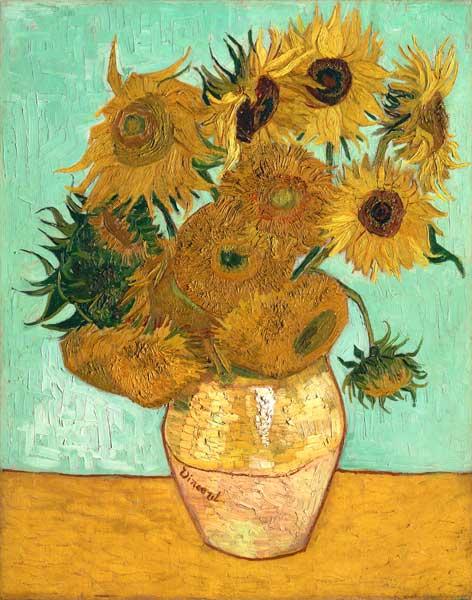 Van Gogh Zonnebloemen