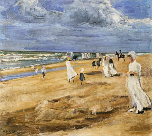 Liebermann - Strand bei Noordwijk