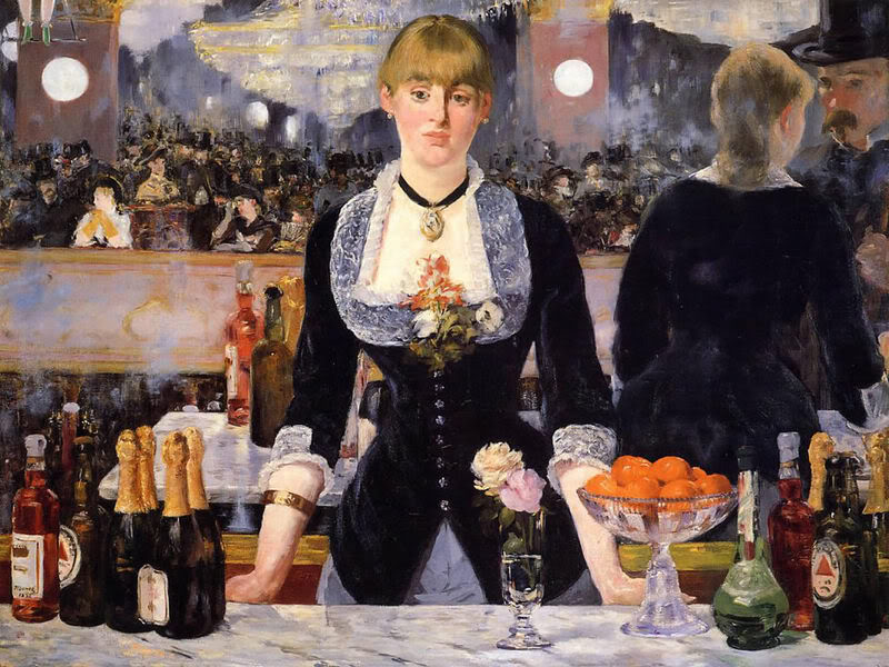 manet Bar alle Folies-Bergeres