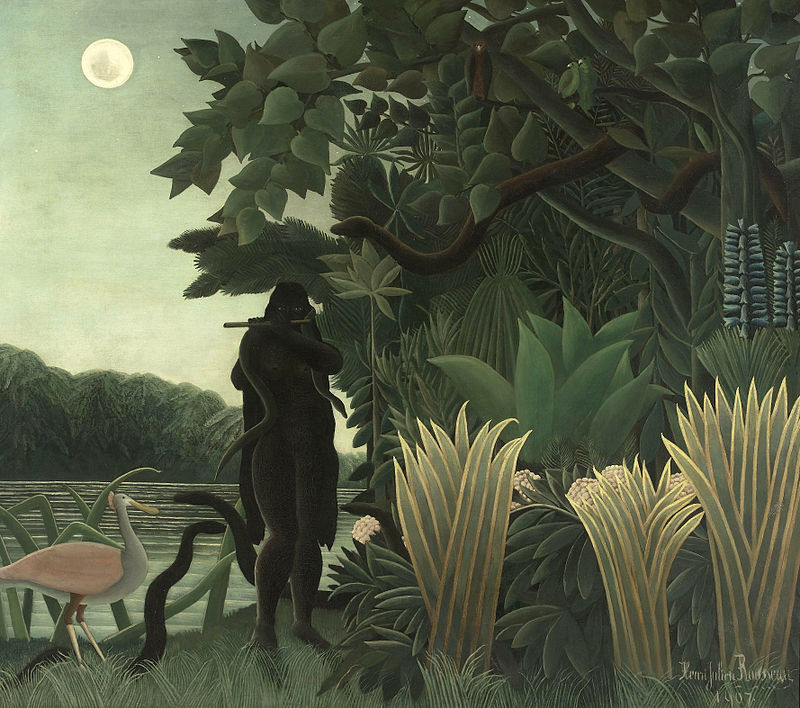 Rousseau - La Charmeuse de serpents