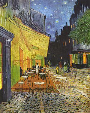Van Gogh - Caféterras bij nacht
